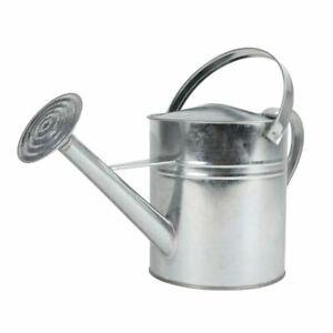 Zink Gießkanne 5 Liter - Metall Giesskanne Blumengießkanne für Innen und Außen