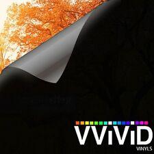"VViViD Blackout Opaque Matte Window Privacy 2ft x 60"" Vinyl Film Decal Sticker"
