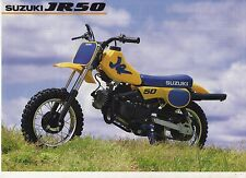 1991 SUZUKI JR50 2 page Motorcycle Brochure NCS