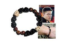 Supernatural Bracelet réplique porté par Dean Supernatural dean skull bracelet