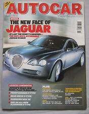 Autocar 9/9/2003 featuring Jaguar, BMW M3 CSL, Porsche, BMW Hartge, Suzuki