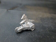 Dollhouse Miniature Unfinished Metal Toy Cartoon Cat Trike