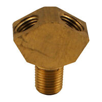 2-Way Gas Splitter Y Fitting for Gas Regulators - Dispense Air to 2 Kegs at Once