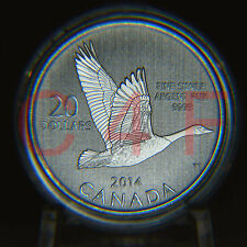 2014 - $20 for $20 #11 - Canada Goose - 99.99% Pure Silver Coin COA Card NO TAX