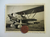 Org. Foto Belgien (?) Beute Flugzeug mit Kennung - Tarnfarbend Top Motiv