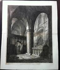 Dealer or Reseller Listed Architecture Original Art Prints