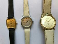 3 vintage woman hand watch - sell together citizen ex carant