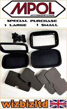 Motorcycle/Cycle Waterproof Mobile Phone Holder fits Karbonn S6 LUGGPS12