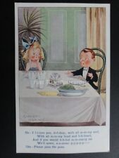 """Albert Carnell: Children Dining """"He - I L-L-Love you...."""" Pub by Valentine's"""
