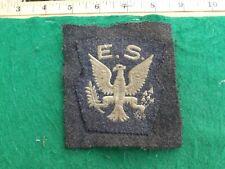 WW2 , R.A.F., EAGLE SQUADRON, Sleeve Patch.On RAF BD Cloth
