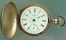 ANTIQUE 1905 NEW YORK STANDARD WATCH COMPANY POCKET WATCH