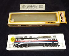 HO Gauge Train Bachmann E60CP Electric Loco Amtrak # 0750