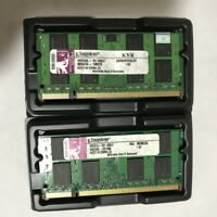 Kingston 4GB 2 X 2GB DDR2 2RX8 PC2-6400S 800Mhz 200pin RAM So-dimm Laptop Memory