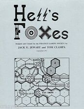 Hell's Foxes- WWII North African Campaign - rare small press *FS