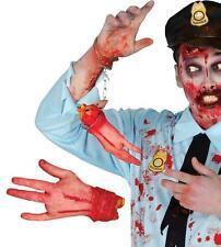 Halloween CAOUTCHOUC blessée main Gross réaliste Saignant DÉCORATION ACCESSOIRE