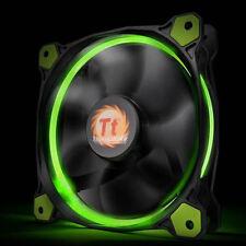 Thermaltake Riing 14 140mm x 25mm Green LED Radiator Fan (CL-F039-PL14GR-A)