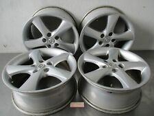 Alufelgen 4 Stück 7x17 ET 55 LK 5x114,3 Borbet   Mazda 6 Sport Kombi GY Bj. 2004