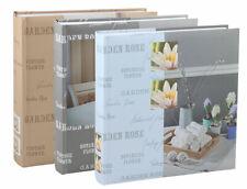 Feel Home Fotoalbum in 30x30 cm 100 weiße Seiten Jumbo Buchalbum Fotobuch