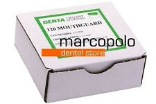 Placche termoplastiche 1,5mm dentali bite dental bruxismo orthodontic mouthguard