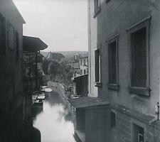 SAVERNE c. 1900-20 - Maisons le long du Zorn  Bas-Rhin  DIV 7259