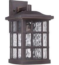Quoizel SNN8409PN Stonington 1 Light 16 inch Palladian Bronze Outdoor Wall Light