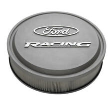 Proform Air Cleaner Assembly 302-382; Ford Racing Gray Aluminum Round 13 x 3""