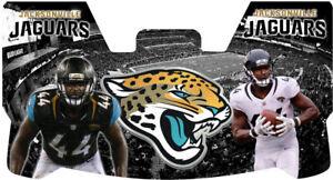 Custom Jacksonville Jaguars Myles Jack Football Helmet Visor, W/ Unbranded Clips