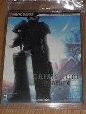 Guide Stratégique officiel Crisis Core : Final Fantasy VII 7 neuf