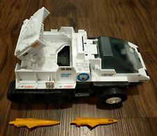 Vintage 1985 GI JOE SNOW CAT Transport Vehicle Hasbro Figure Toy Truck