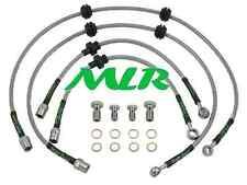 VAUXHALL MK5 ASTRA VXR 2.0 TURBO S/STEEL BRAIDED BRAKE LINES HOSES PIPES MLR.UL