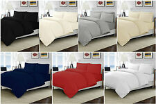 T200 Egyptian Cotton Cot Duvet Cover & Pillow Case Sets 100x120 CM Clearness