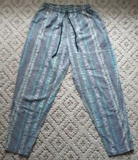 Vintage 80s 90s Weekends Hammer Surf Muscle Pants Zubaz Style Made In Usa