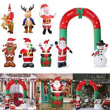 Inflatable Christmas Xmas Santa Claus Snowman Holiday Outdoor Yard Decoration