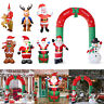 Inflatable Christmas Xmas Santa Claus Snowman Holiday Outdoor Yard Decoration