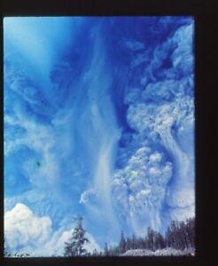 Original 35mm Slide Transparency TV Station Mt. St. Helens