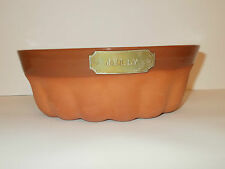 1869 The Victorian Pottry Terracotta Pottery Jelly Mould Lovely
