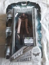 "THE DARK KNIGHT RISES MOVIE MASTERS BANE FIGURE NEW SEALED 6"" action figure free"