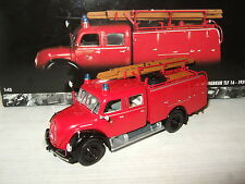 Minichamps 141070 1959 Magirus-Deutz Merkur TLF 16 Fire Engine in 1:43 Scale.