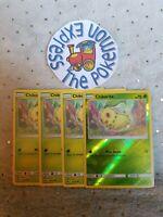 Pokémon TCG 4x Chikorita #6/214 1 Reverse Holo Mint Lost Thunder Grass English