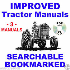 Ford 501 600 601 700 701 800 801 900 901 1801 TRACTOR PARTS, SERVICE -3- MANUALS