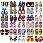 SOFT LEATHER BABY SHOES PRAM GIRLS BOYS 0-6,6-12,12-18,18-24 MONTHS (CC)