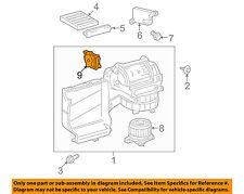 TOYOTA OEM Blower Motor Fan-Servo 8710607140