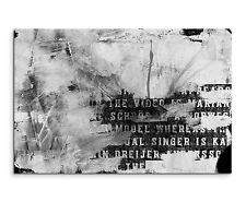 Leinwandbild abstrakt schwarz grau weiß Paul Sinus Abstrakt_742_120x80cm
