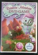Rainbow Adventure DVD Game - 3 Games in All - Brand NEW DVD Sealed