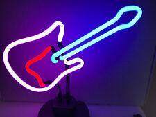 GITARRE Neon sign Neonleuchte GUITAR Gifts signs Neonreklame retro cult news
