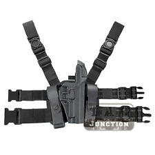Tactical Level 3 Serpa Right Leg Duty Pistol Holster for Sig Sauer P226 P229