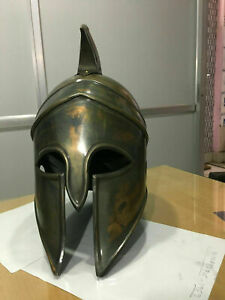 Greek Corinthian Armor Helmet Reenactment Bronze Greek Wearable Helmet