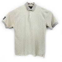 FORE Golf Wear Men's L Polo Shirt Short Sleeve Cotton EUC