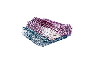 Preema Check T-Towel, Assorted Colours (10 pack)