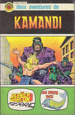 C1 KAMANDI Annee Zero RECUEIL # 1 ET 2 JACK KIRBY Aredit DC Couleurs 1979